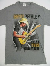 Brad Paisley Beat This Summer 2013 Tour Concert T-Shirt Size S - $12.86