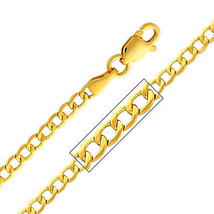 14k Yellow Gold 2.3-mm Cuban Chain Necklace - $108.80+