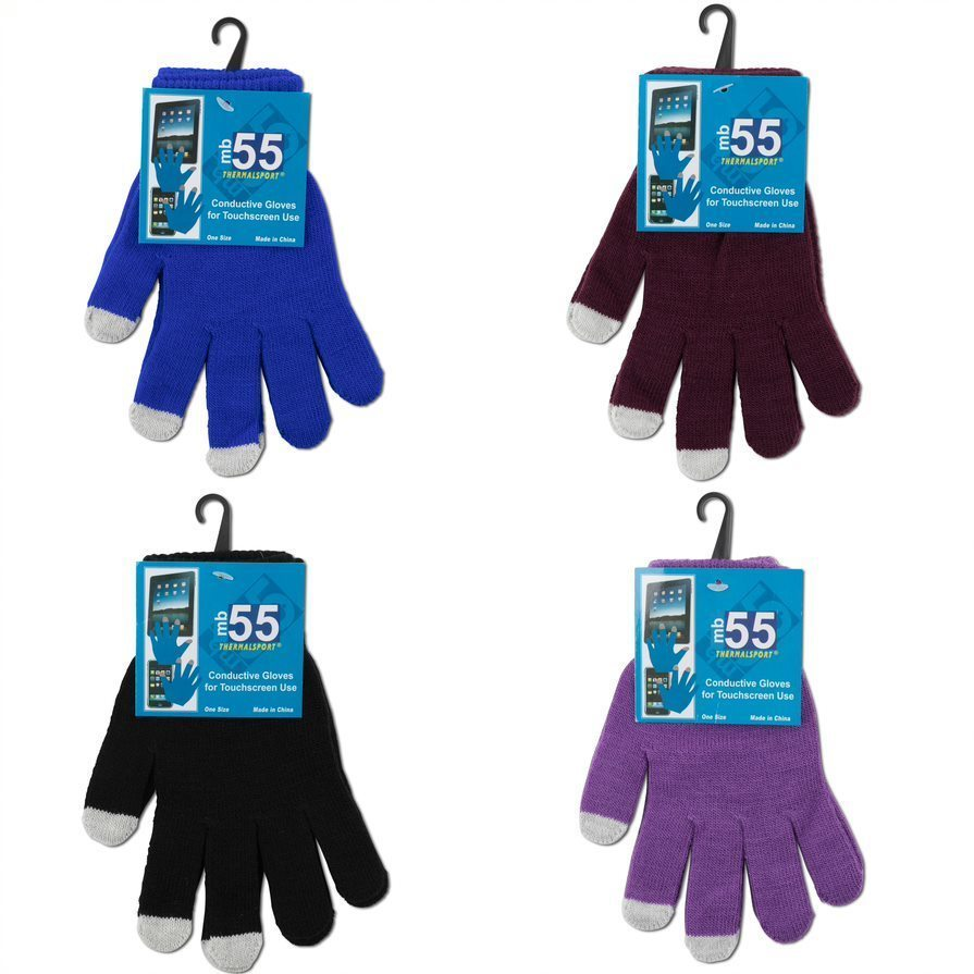 Case of [24] Women's Magic Texting Gloves