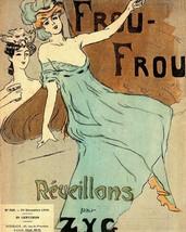 Le Frou Frou: Reveillons - Zyg - 1910 - $12.95+