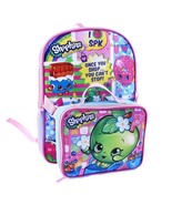 Shopkins Once You Shop You Cant Stop Girls Backpack & Detachable Lunch B... - $22.95