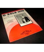 1935 O SOLE MIO Antique Sheet Music ED DI CAPUA Calumet Joseph Gallicchi... - $9.99
