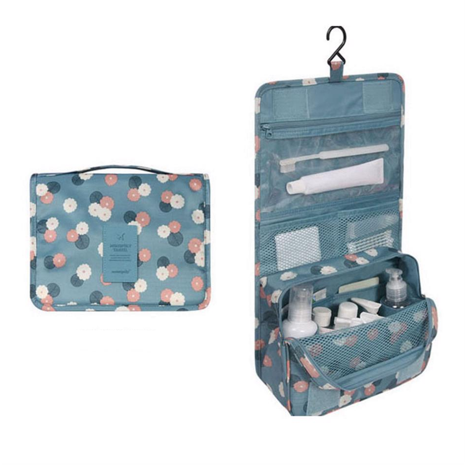 Hanging Travel Organizer Cosmetic Bag Toiletry Pouch Wash Storage Makeup Case