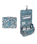 Hanging Travel Organizer Cosmetic Bag Toiletry Pouch Wash Storage Makeup... - £9.25 GBP