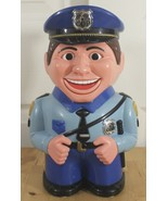 Fun-damental The Original Cookie Jar Animated Talking Cop Police Canister - $23.95