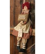 Primitive Decor 3D6052-Darlin Doll Clara - $17.95