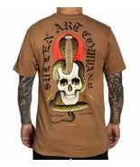Sullen King Cobra Snake Skull Bolts Nick Stegall Tattoo Artist T Shirt S... - $29.50+