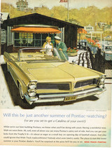 Vintage 1963 Magazine Ad Pontiac Catalina You'll Be Surprised At The Price - $5.93