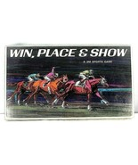 Vintage Win, Place & Show Horse Racing Board Game 1966 3M Sports Games C... - £38.65 GBP