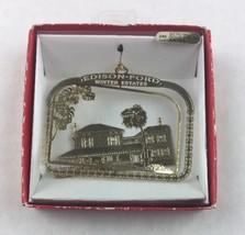 Nations Treasures Edison-Ford Winter Estates Brass Metal Souvenir Ornament - $15.00