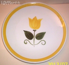 "STANGL NEW YELLOW TULIP DINNER PLATE  10 1/2"" - $19.95"