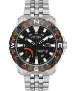 CITIZEN AW7048-51E ECO-DRIVE SILVER STAINLESS STEEL DATE MEN'S WATCH - $257.39