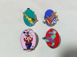 Disney Official Trading Pins Hidden Mickey Theme Lot of 4 Collectible - $7.05