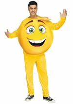 NEW GENE Adult MAN Costume, One size up to 200 lbs, from EMOJI Movie, Fu... - $34.64
