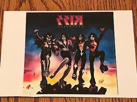 """KISS DESTROYER IRON ON TRANSFER  5"""" x 5""""     WOW~ AWESOME PICTURE! - $29.69"""