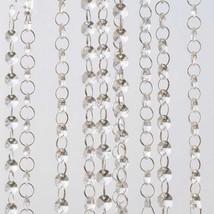 12PCS 90cm A-Grade Acrylic Crystal Bead Chain Curtain Clear Hand-Strung Wedding - $15.90