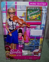Barbie You Can Be Anything MUSIC TEACHER Doll Playset New - $30.88