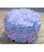 """Dezicakes Fake Cake 6"""" Cotton Candy Swirl Cake- Fake unedible Prop Pink ... - €17,69 EUR"""