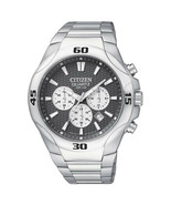 Citizen AN8020-51H Men's Quartz Black Dial Stainless Steel Watch NEW IN BOX - $128.69