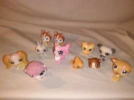 Lot of 11 Littlest Pet Shop Figurines Animals - $23.74
