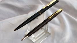 2 pc vintage parker gt ball pen point pen arrow and falcon - $48.51
