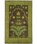 Jaipur 5' 0'' x 7' 11'' Eggplant Traditional Indian Handmade Rug 5 x 8 Rug - $370.26