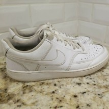 Nike Women's Size 9 Court Vision Low Shoes Triple White CD5434-100 - $18.51