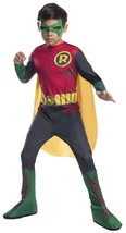 Rubini Robin Dc Comics Batman Gotham Bambino Ragazzi Costume Halloween 6... - $31.49
