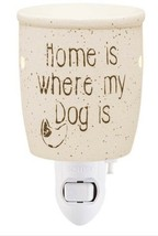 "NEW Scentsy ""Home Is Where My Dog Is"" Mini Warmer Plug In Candle Home Light Up - $20.55"