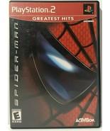 Spider-Man (Sony PlayStation 2, 2002) - $10.00