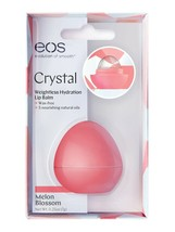 Genuine Eos Crystal Melon Blossom Lip Balm Dry Cracked lips help 7 gr NE... - $18.50