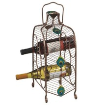 "CC Home Furnishings 16"" Contemporary Peacock Eye Wine Rack - 5 Bottle St... - $63.10"
