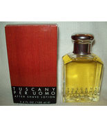 Vintage TUSCANY PER UOMO After Shave Lotion 3.4 oz Cologne MEN Perfume A... - $299.99