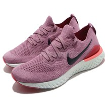 Nike Epic React Flyknit 2 BQ8927-500 Plum Dust Black White Women's Runni... - $79.50