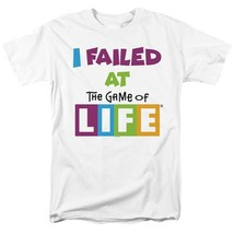 Game of life i failed t shirt classic retro 70s 80s toys graphic printed tee white thumb200