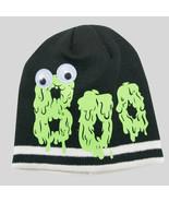 Cat & Jack™ Toddler Girls' Google Eye BOO Slime Beanie Hat Black 2T-5T - $7.91