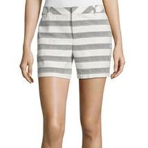 Liz Claiborne Jacquard Walking Shorts Size 12, 18 New Msrp $44.00 - $14.99