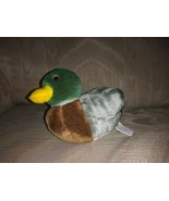 "Wild Republic Duck Plush Makes Sound Quacks 6"" Stuffed Animal 2014 Made ... - $13.85"