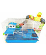 Large 3-Levels Hamsters Habitat Tube House Cage Rodent Gerbil Rats Mouse... - $79.00