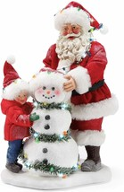 Department 56 Possible Dreams Santa Winter Cheeks Lit Figurine, 10.5 Inc... - $142.49
