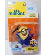 "Disney Thinkway Toys Despicable Me Deluxe Dracula's Minion Stuart  4""  - $34.00"