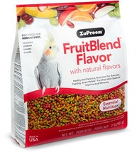 Zupreem Fruit Blend Diet for Medium Birds, 2-Pound - $9.99