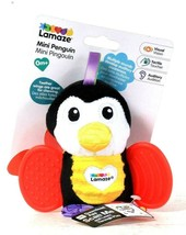 1 Ct Lamaze Mini Penguin Multiple Sounds Teether With Wings For Chewing ... - $13.99