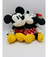 Hallmark Mickey and Minnie Mouse - She Kissed Me - Plush Pair - $22.72