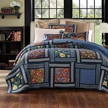Da Da Bedding Darkly Bohemian Patchwork Quilted Bedspread Set - Full - $90.15