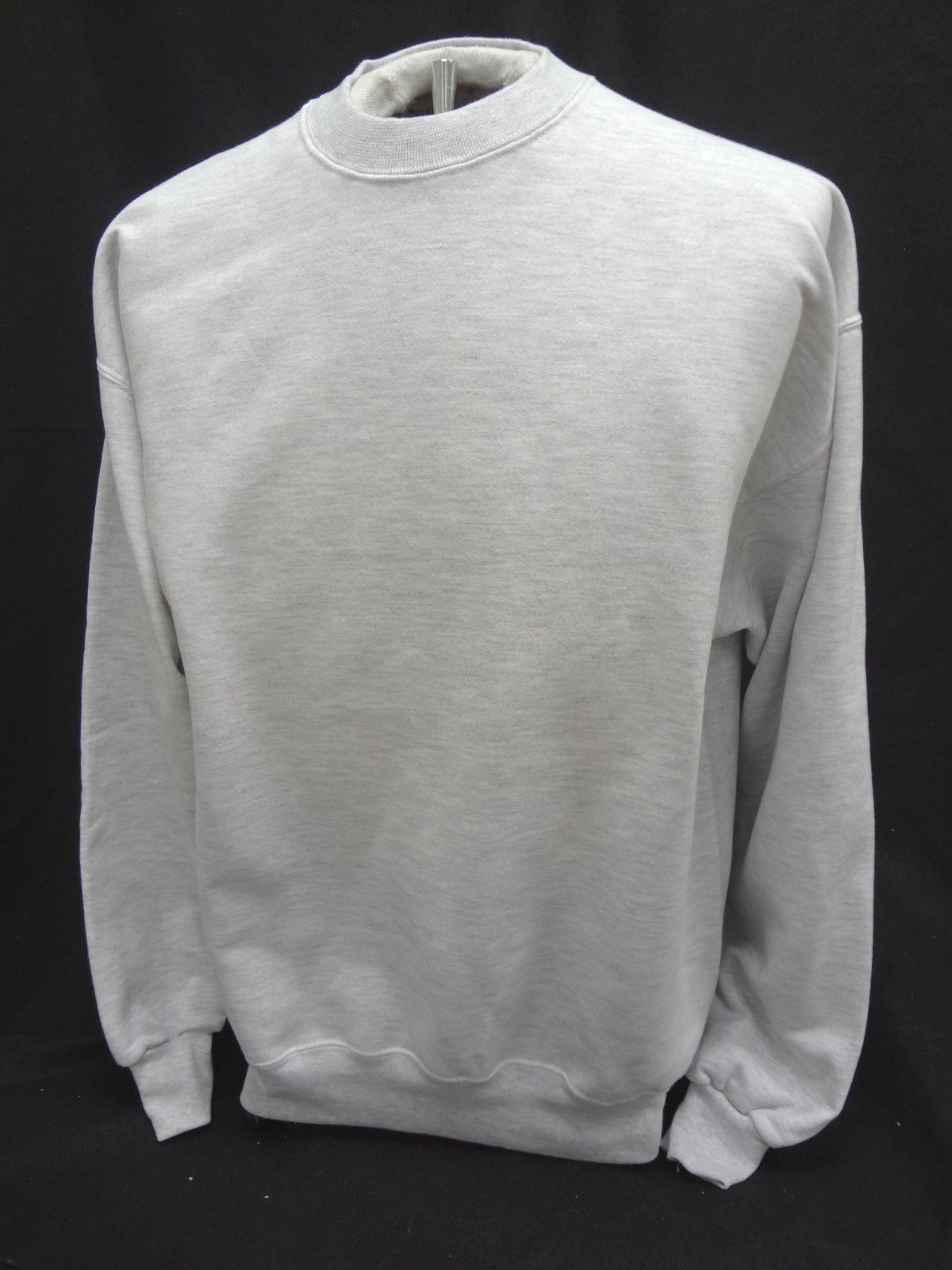 Primary image for JERZEES SUPER SWEATS Crewneck Long Sleeve Sweatshirt GRAY ~Size ADULT 2XL ~NWOT