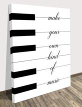 Piano Music Quote Wall Canvas Print Decol Home Decor Modern Art Song Dec... - $74.86+