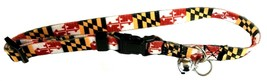 Maryland Flag Cat Collar with Bell - $9.99