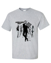 Mes bond 007 sean connery t shirt retro vintage action movie tee for sale online  store thumb200