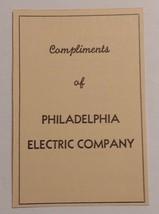 1940 Philadelphia Electric Company Advertisement - $16.00